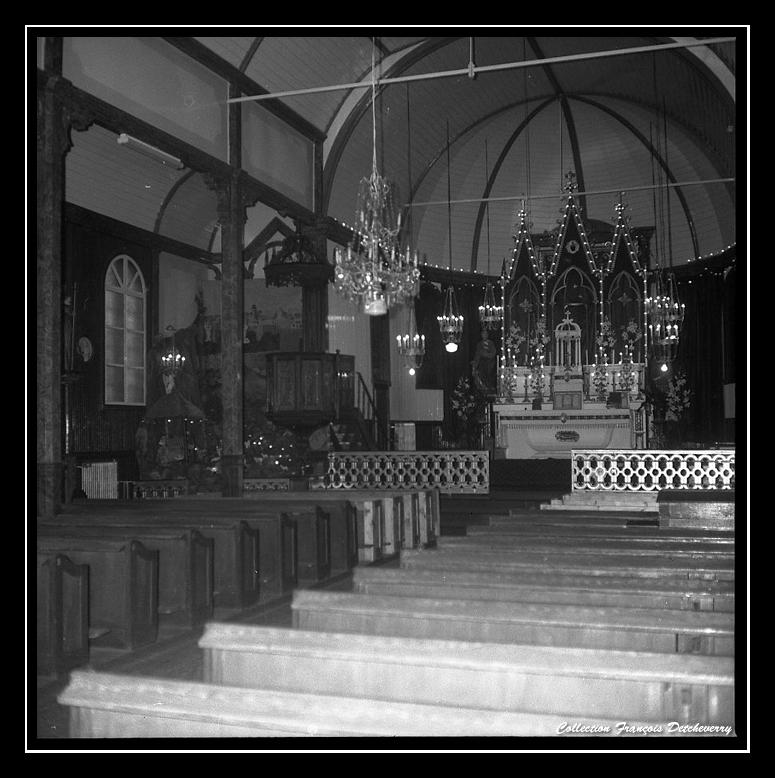 Intérieur de l'Eglise de Miquelon