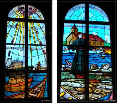 Vitraux de l'Eglise de Miquelon