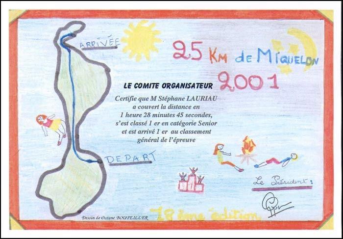 Diplôme 2001