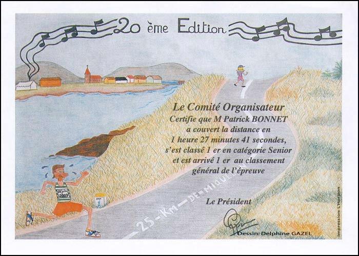 Diplôme 2003