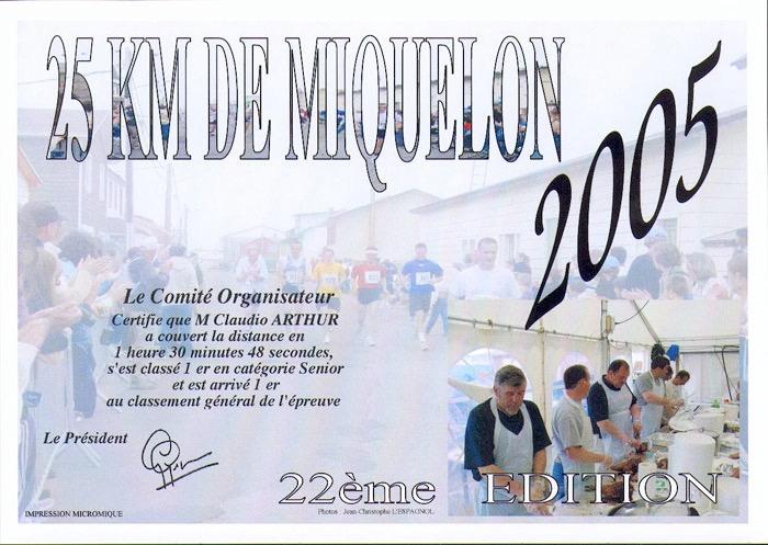 Diplôme 2005