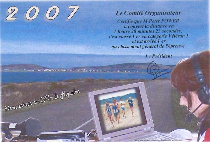 Diplôme 2007