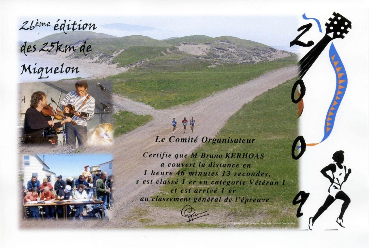 Diplôme 2009