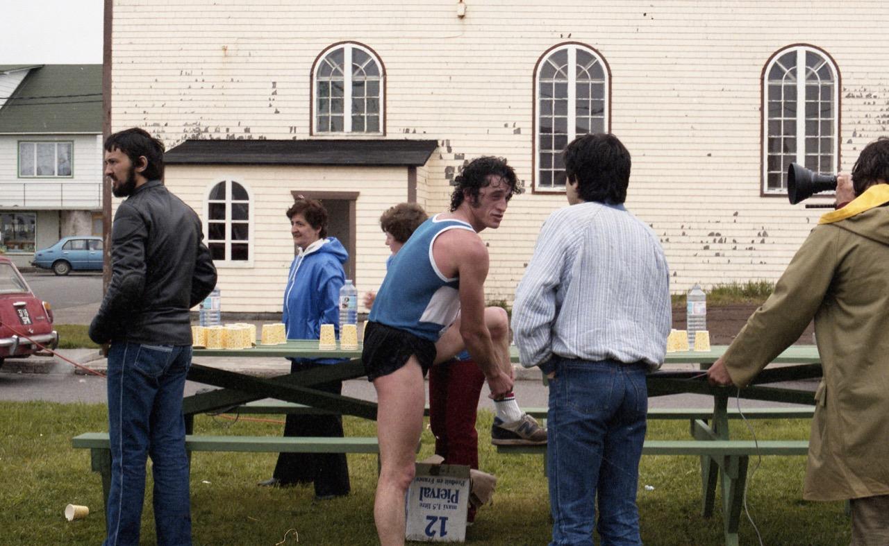 1984 - Premier vainqueur des 25km de Miquelon...