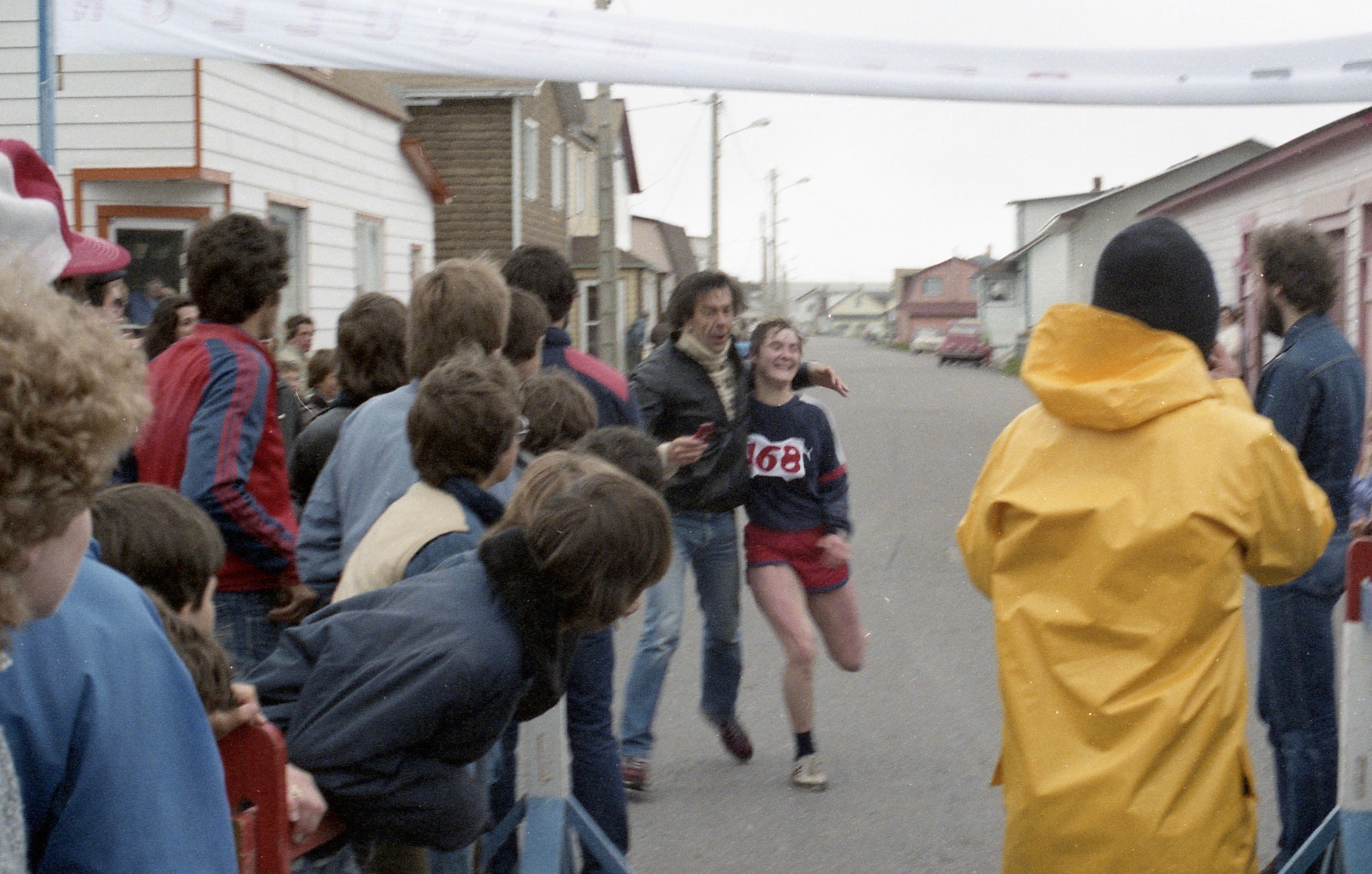 1984 - Première femme des 25km...