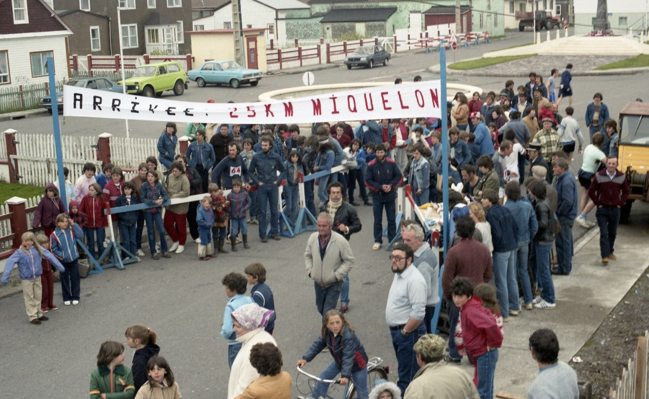 1984 - Ligne d'arrivée...